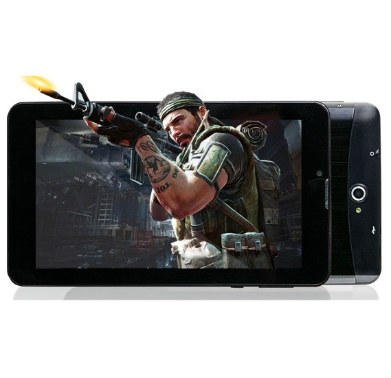 I-Touch SK704 Tablet 3G, WiFi,Android OS, 7.0 Inch Display, 512MB RAM, 4GB Storage, Dual Camera, Dual SIM, BT,FM Radio- Black