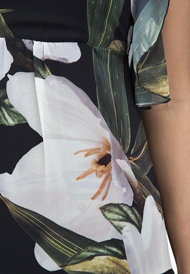 WAL G Italy Printed Short Casual Dress Printed - WG 7762 - XL