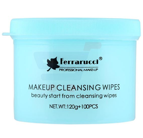 Ferrarucci Makeup Cleansing Wipes 120g, White