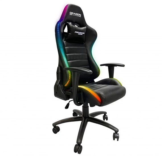 Dragon War Lighting Effect Gaming Chair, GC-015 RGB