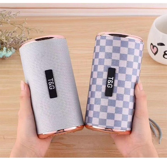 T&G TG153 Portable Wireless Bluetooth Multi-Colour Super Bass Stereo Speaker with FM Radio, Aux, Micro SD & USB Flash Supprt