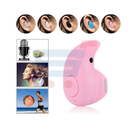 Esonstyle Z 530 40  Mini Ultra-small Stereo Bluetooth Headset Earphone Earbud for Iphone,samsung,and Other Bluetooth Devices - Pink