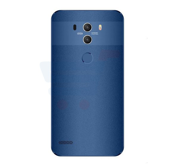 Lenosed Mate 10 4G Smartphone, Android OS, 5.5 Inch FW Display, 2GB RAM, 16GB Storage, Dual Camera, Dual SIM - Blue