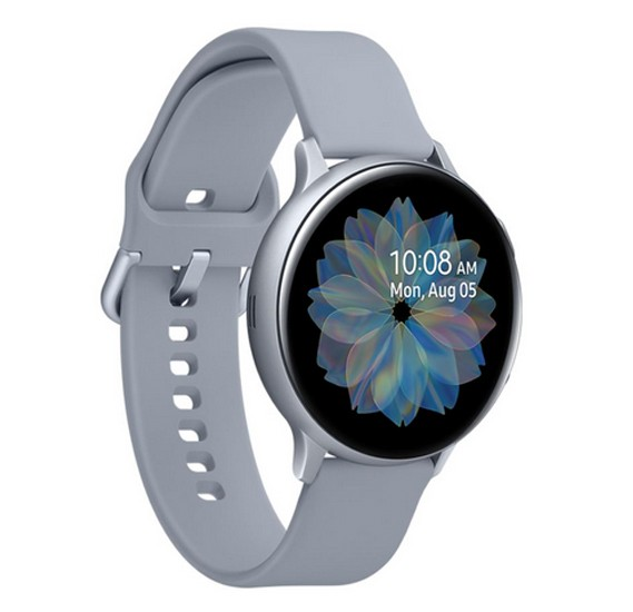 Samsung Galaxy Watch Active 2, 44mm Aluminium - Cloud Silver, SM-R820