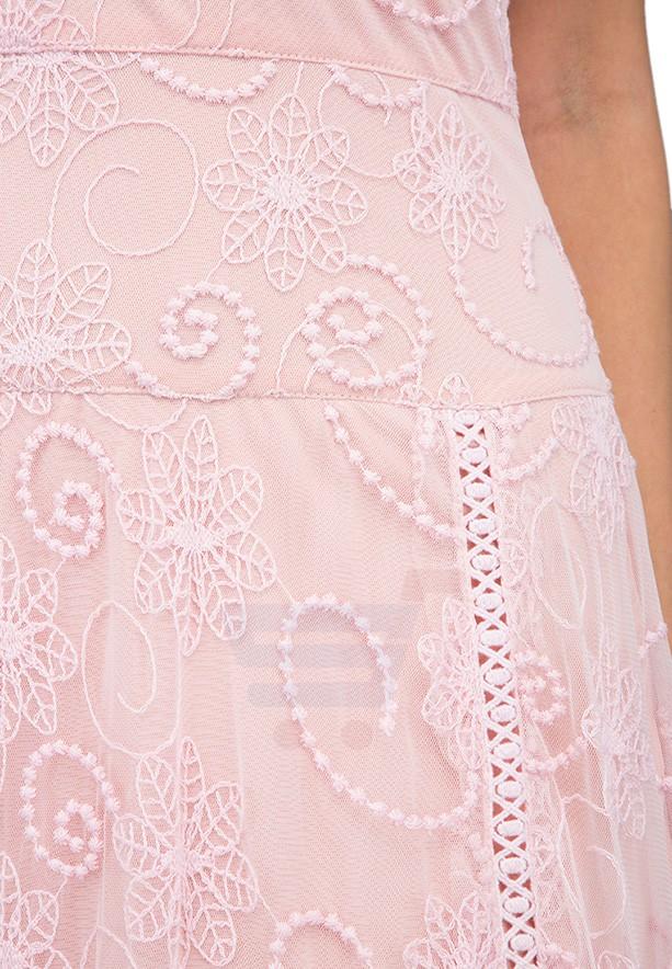 TFNC London Odessa Maxi Dress Pink - LNB 45670 - L