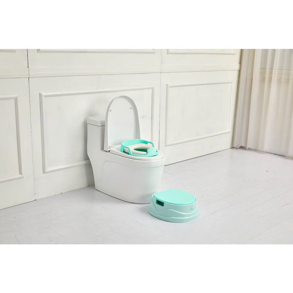 Little Angel Soft Toilet Seat White for Kids, BH-115
