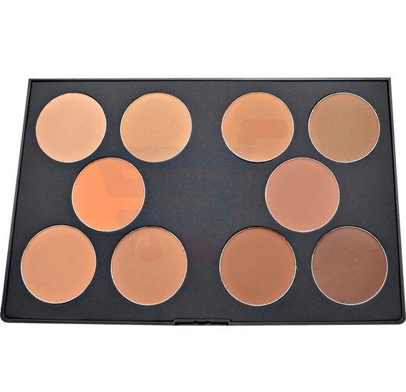 GlamGals Powder Palette-B 10 Color