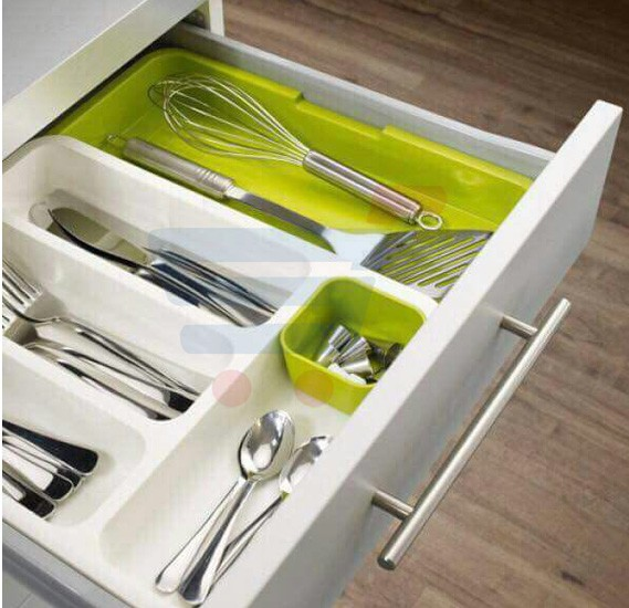 Drawer Store Expandable Cutlery Tray