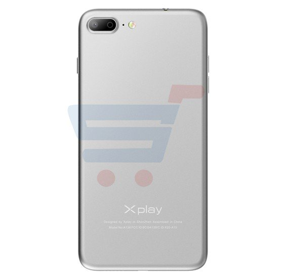 Xplay iPh7 Plus Smartphone,4G LTE,Android 6.0 OS,5.5 Inch HD Display,3GB RAM,32GB Storage,Dual SIM,Dual Camera,Quad Core 2.0 Ghz  Processor-White