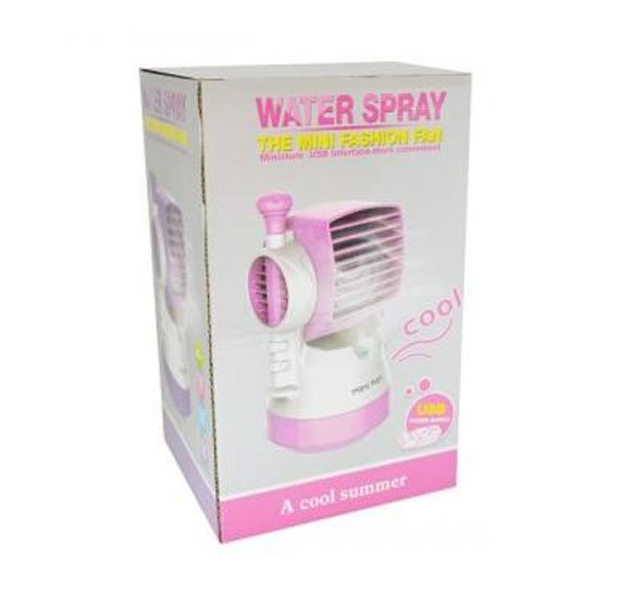 Water Spray Mini Fashion Fan