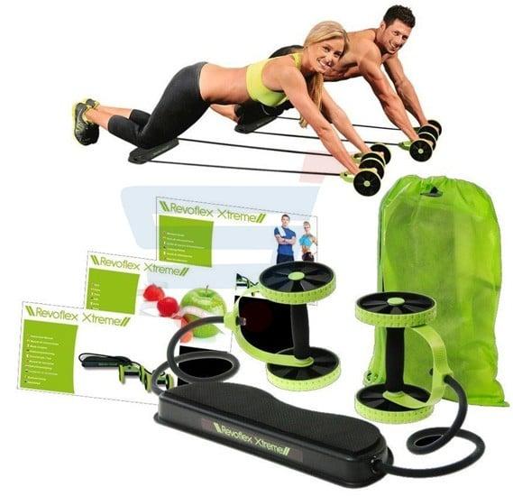 Revoflex Xtreme Thin Waist Fitness Workout Training Equipment, Total Body Fitness Exerciser