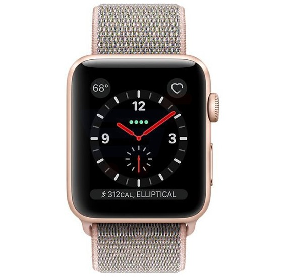 Apple Series 3 42MM Gps And Cellular MQK72 Sport Loop Gold Pink