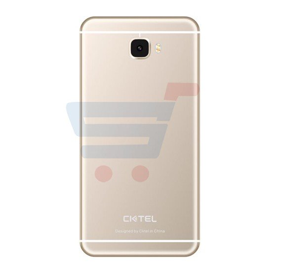 CKTel C7 Plus Smartphone, 4G LTE, Android OS, 5.5 QHD Display, 3GB RAM, 32GB Storage, Dual SIM, Dual Camera, Quad Core Processor - Gold