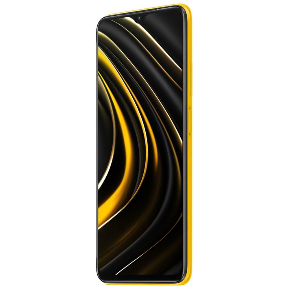 Xiaomi Poco M3 Dual SIM, 4GB RAM 128GB Storage, 4G LTE, Poco Yellow