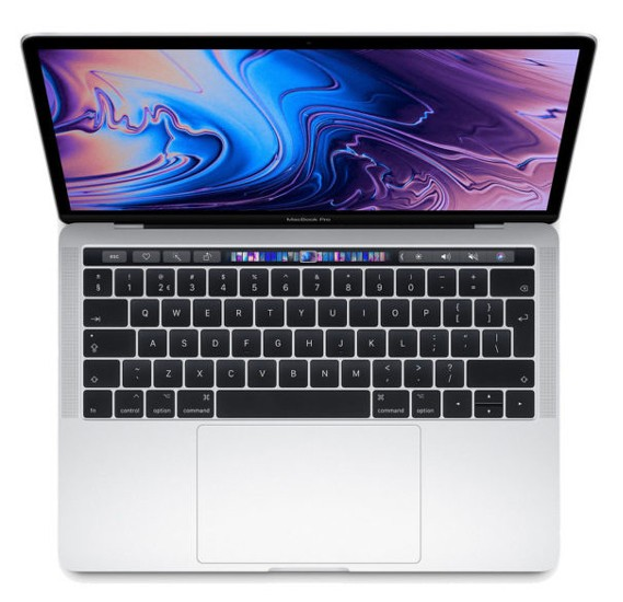 MacBook Pro 13 Touch Bar & Touch ID 2018 – Core i5 2.3GHz 8GB 512GB Shared 13.3inch Silver English, MR9V2B/A
