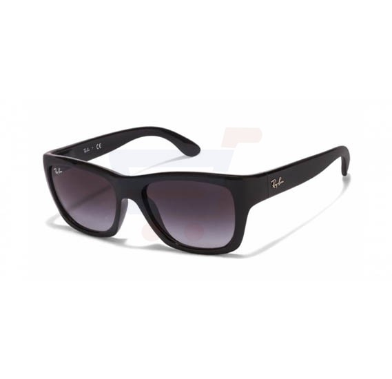 Ray-Ban Wayfarer Black Frame & Grey Gradient Mirrored Sunglasses For Unisex - 0RB4194l-601-8G