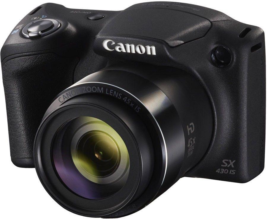 Canon PowerShot SX430 IS Mini DSLR Camera , Black