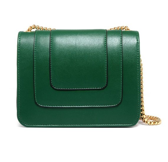 5ba51dea4a80 ... Fashion Green Shoulder Bag For Women Summer Style Chain Crossbody Bag  Ladies Dress HandBag