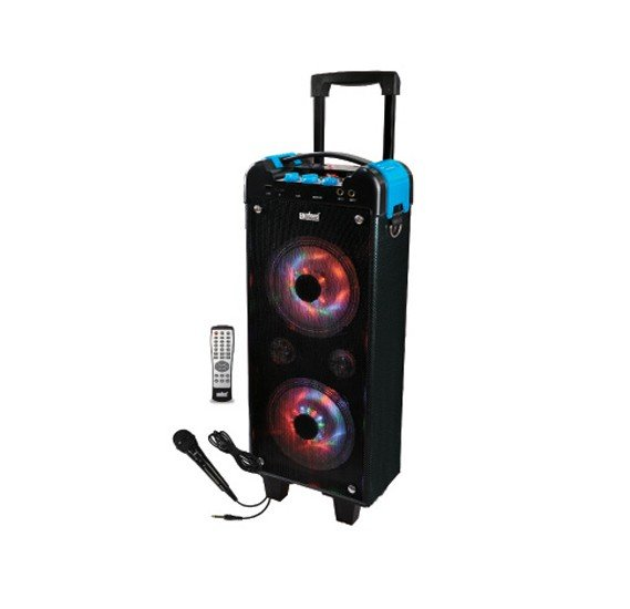 Sanford Sf2268rts bs Rechargeable Trolley Speaker 300w
