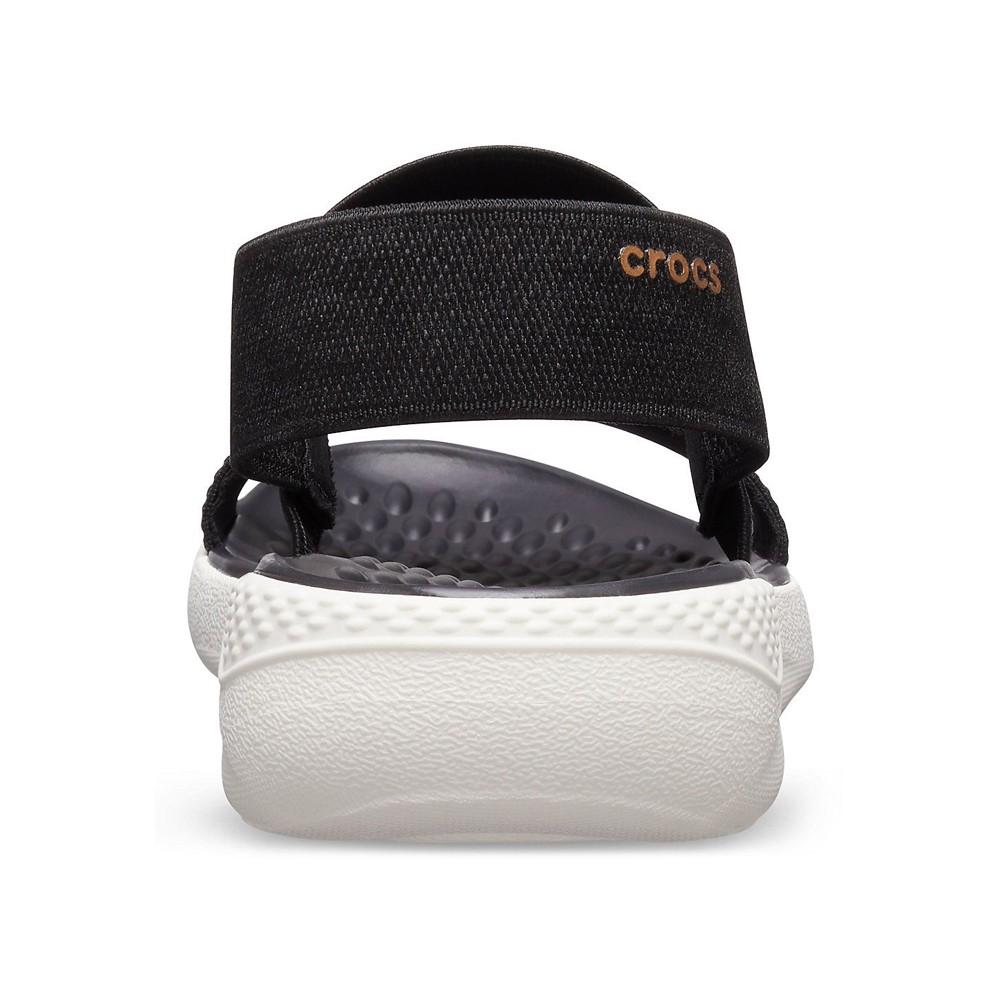 Crocs Womens Clogs Sandals Literide Sandal W Black  205106-066