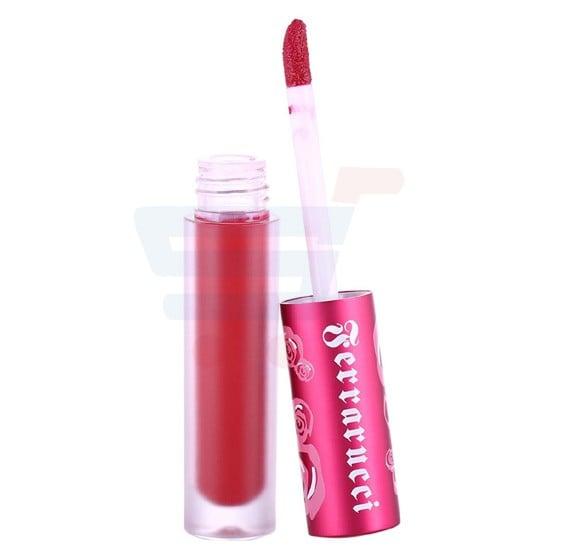 Ferrarucci Velvetlines Liquid Matte Lipstick, Red Velvet,  2.6ml