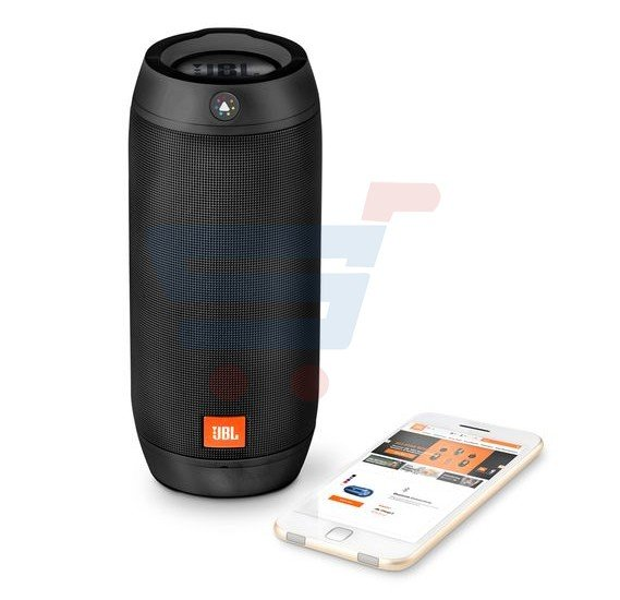 JBL Splashproof Bluetooth Speaker with Light Show Pulse 2 Black