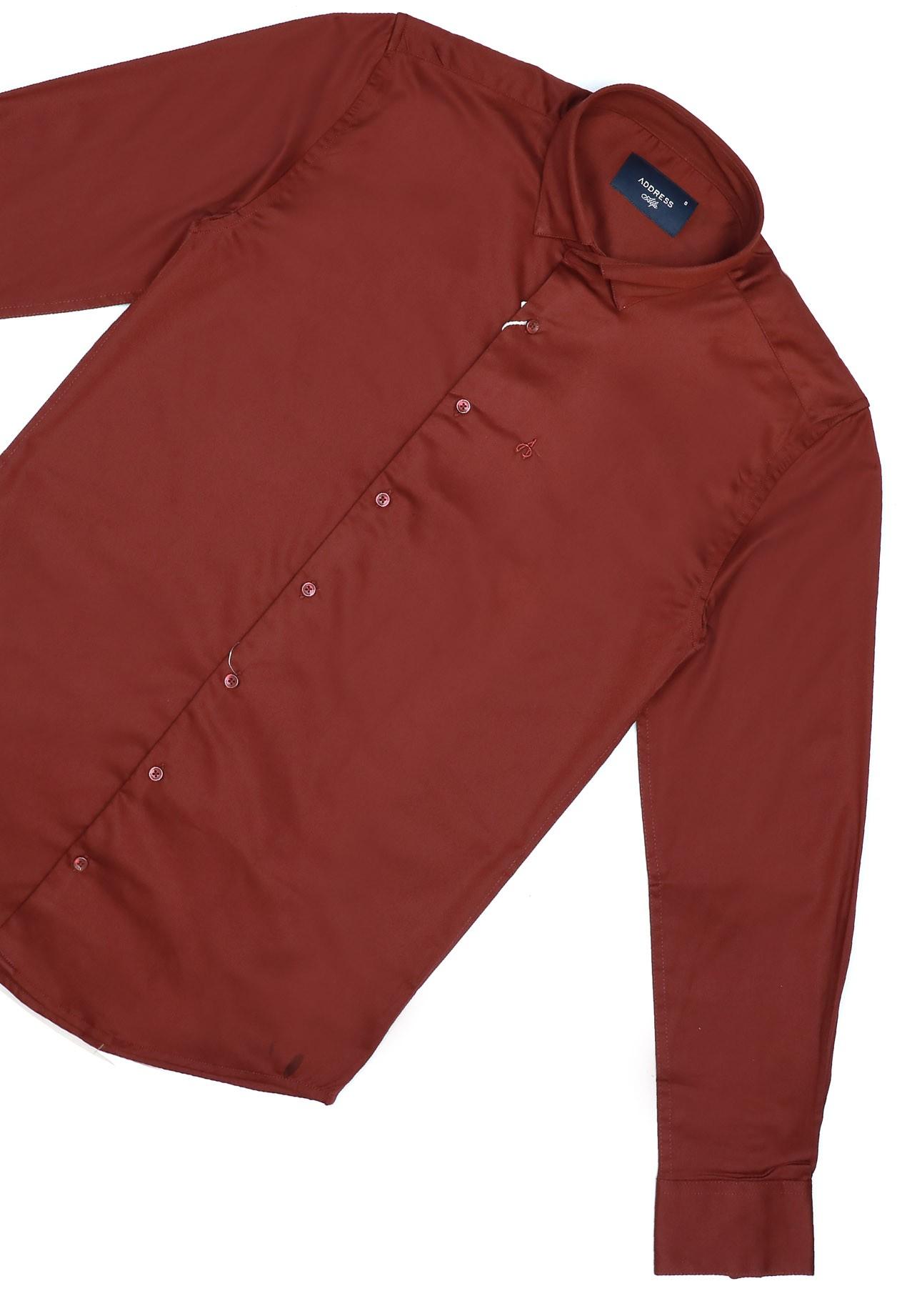 Address Formals Shirt Red, XL