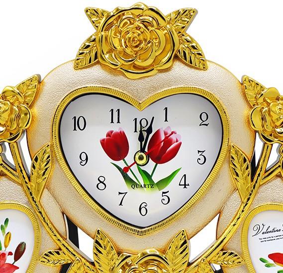 Bait Al Designary Table Clock With Photoframe
