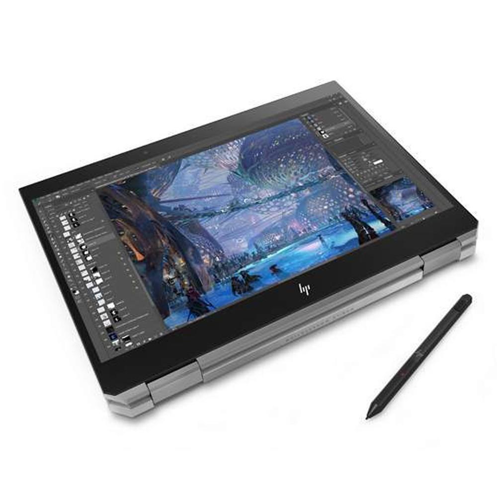 HP Zbook Studio G5 Mobile Workstation Laptop, 15.6 Inch Full HD, Intel Core i7 Processor, 16GB RAM, 512GB SSD, NVIDIA Quadro P1000 4GB Graphics, Windows 10 Pro, Silver
