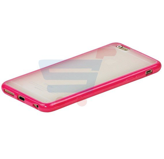 Promate Amos i6P iPhone Case, Impact Resistant Snap On Cover for Apple iPhone 6/6S Plus, Pink