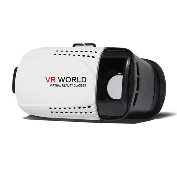 VR Box (VR WORLD) 3D Headset Virtual Reality Glasses