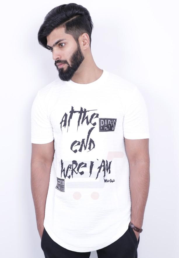 Nansa Mens Tshirt White - NAABF15615X - M