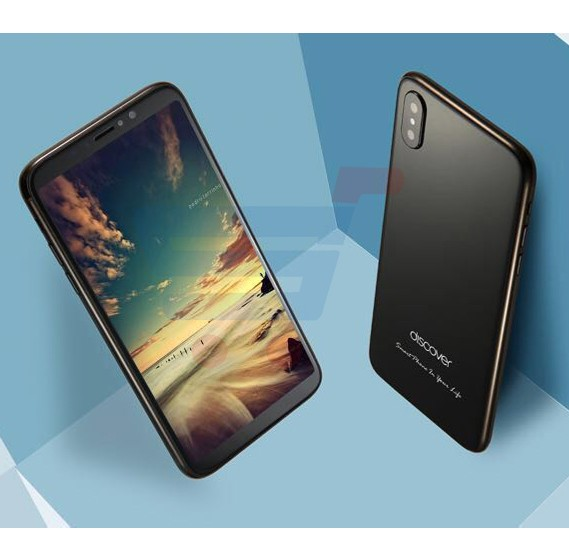 Discover IPX 4G, Smartphone, Android 6.0, HD Display 5.7 Inch, Dual Sim, Dual Camera, 3GB RAM, 32GB Storage - Black