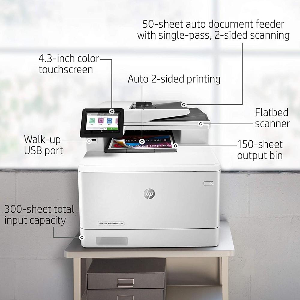 HP M479FDN Color Laserjet Pro MFP Printer