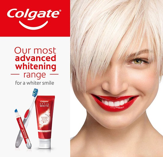 Colgate Optic White Expert White Whitening Toothpaste - 75ml