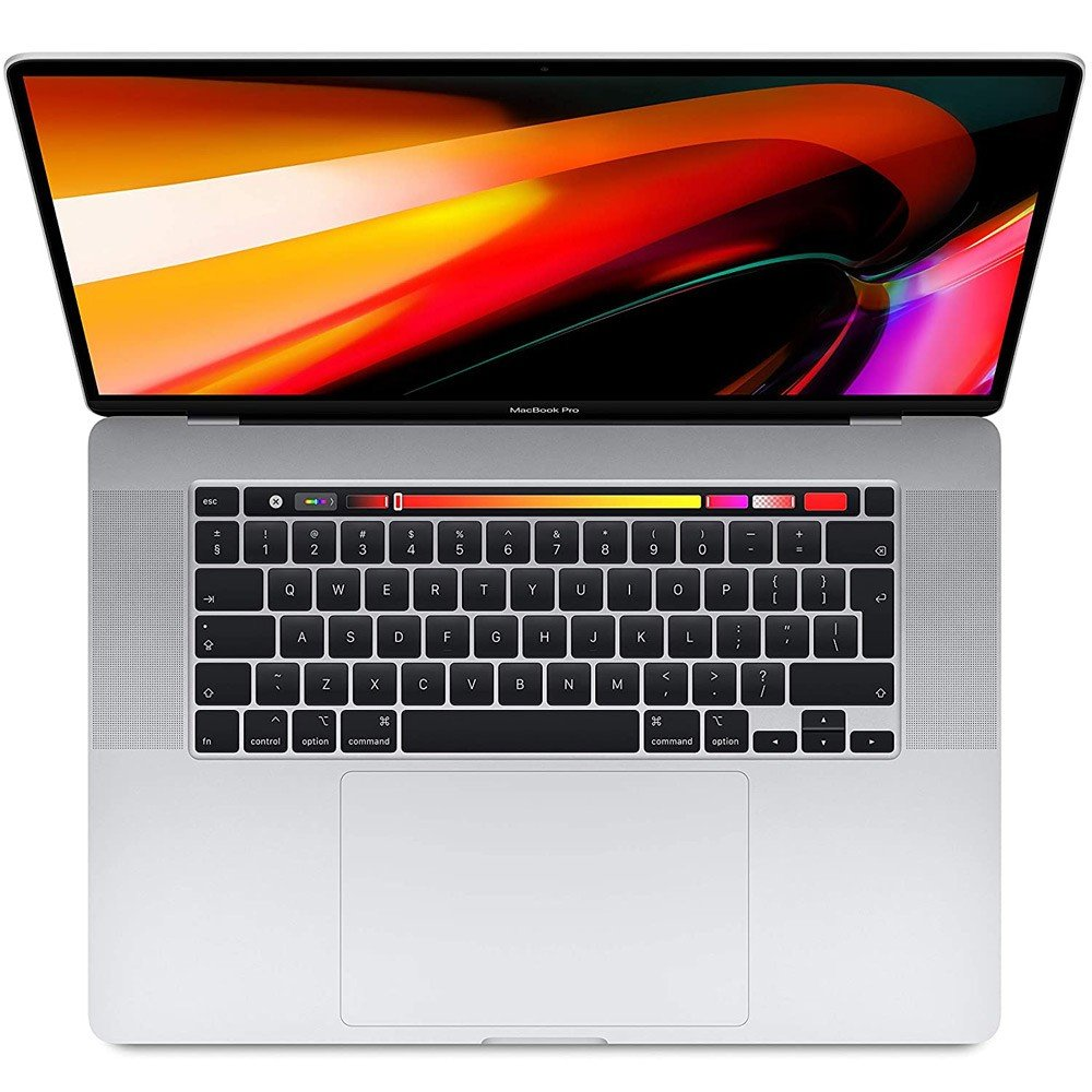 Apple MacBook Pro 16 inch Disaplay 2019, i9 Processor, 16GB RAM, 1TB SSD, Silver
