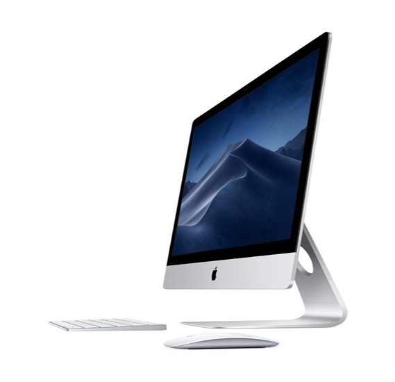 Apple iMac Silver i5 3.5 Quad Core 8GB 1TB FD Radeon PRO 575 with 4GB 5K Retina P3 27