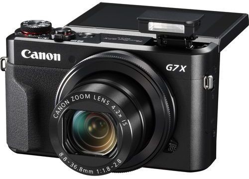 Canon PowerShot G9 X Mark II with 20.1 MP, Point and Shoot Camera, Black