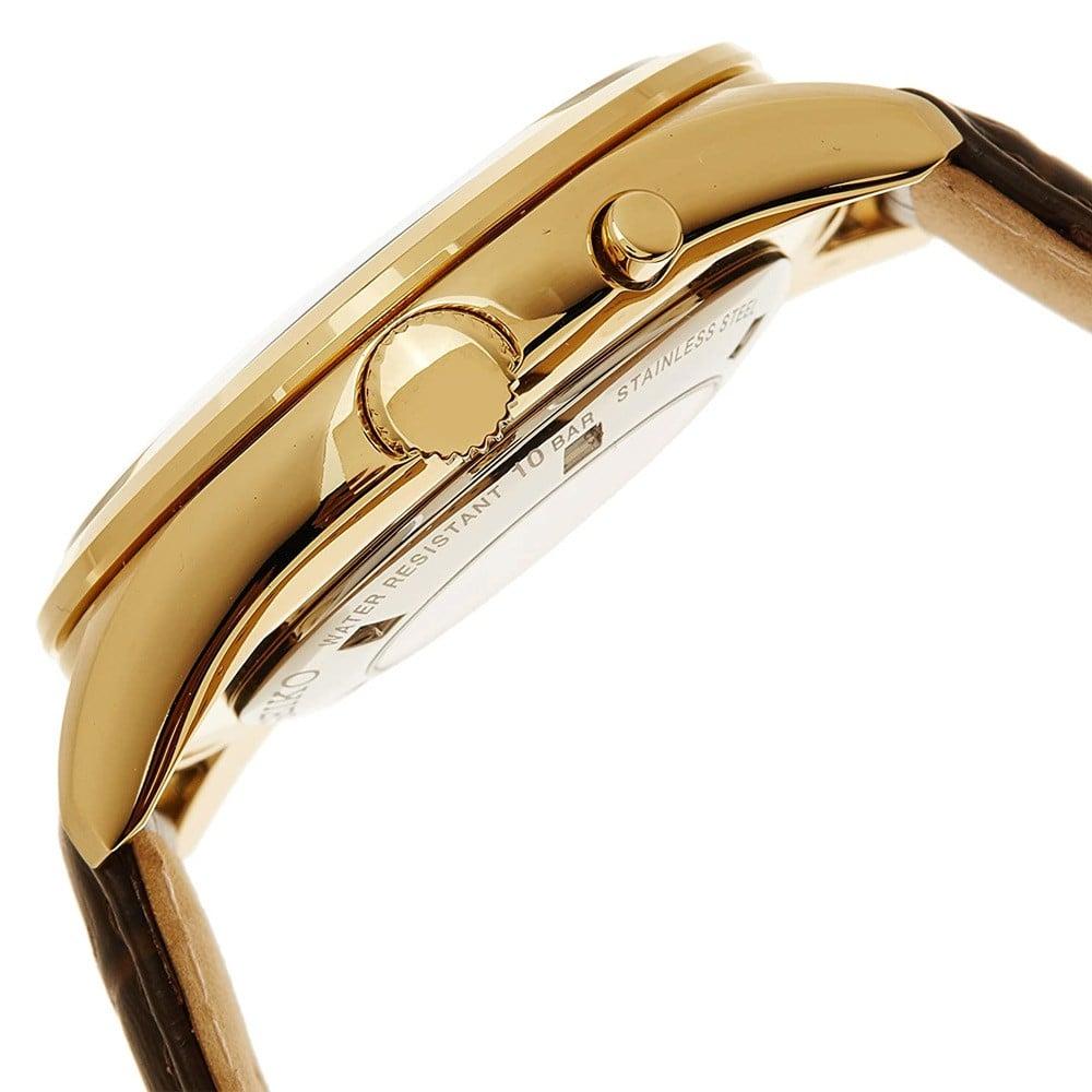 Seiko Men Analog White Dial Watch, SRN052P1