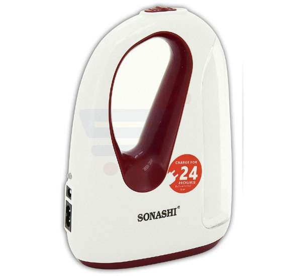 Sonashi Rechargeable Led Lantern Maroon, SEL-802
