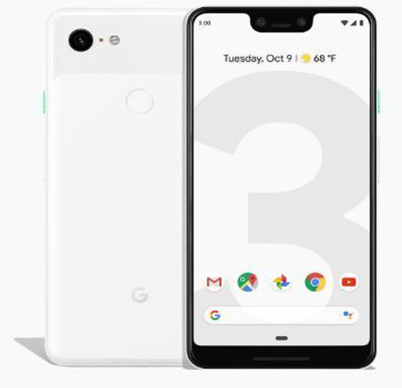 Google Pixel 3 XL - 64GB, 4GB RAM, 4G LTE, Clearly White