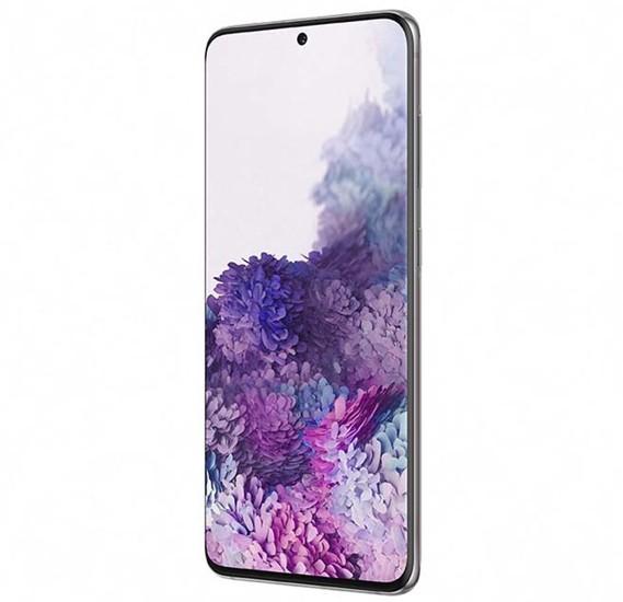 Samsung Galaxy S20 Dual SIM 8GB RAM 128GB 4G LTE, Cosmic Gray
