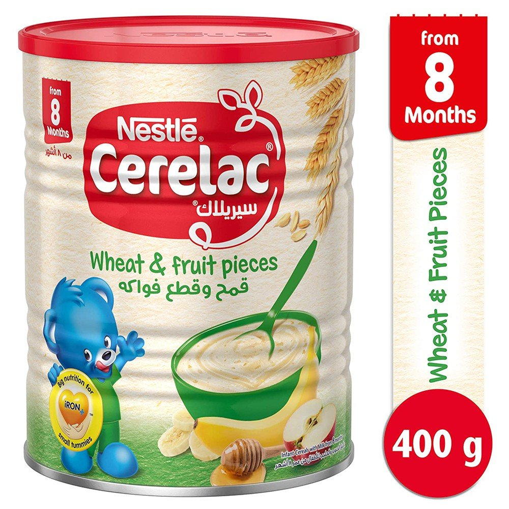 Cerelac Wheat & Fruit Pieces 400 gm