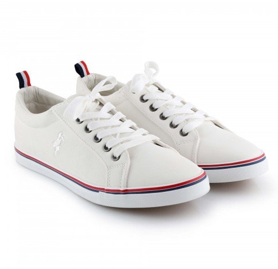 Casual Shoes For Mens GH-859, Size 42 - White