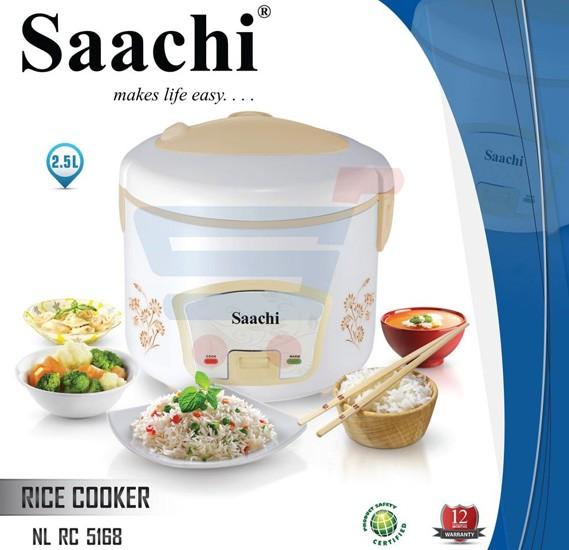 Saachi 2.5 Liter Rice Cooker ‐ RC‐5168
