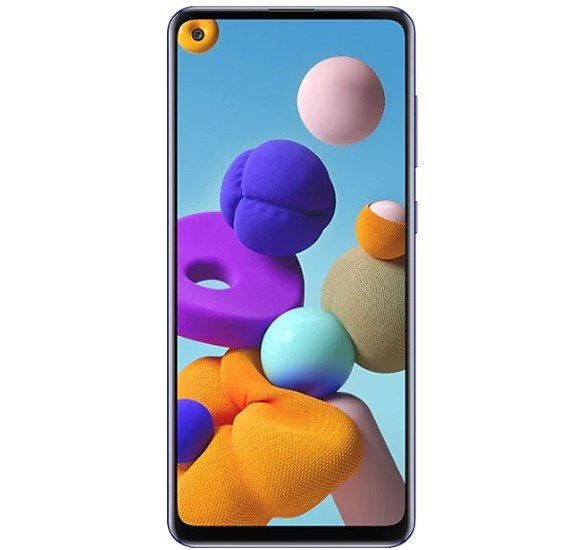 Samsung Galaxy A21s Dual Sim 4GB RAM 64GB 4G LTE - Blue
