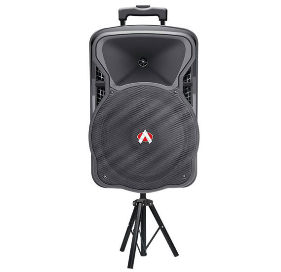 Audionic Rex70 Rechargeable Trolley Speaker with Wireless Mic