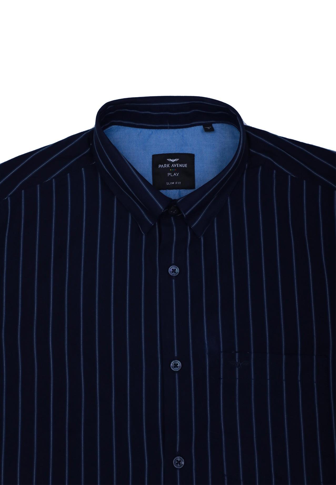 Park Avenue PCSA01884-B7 Mens Shirt, Size 44