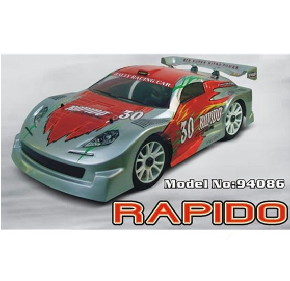 HSP 1/8th Scale Nitro On Road Rally Racing Car - 94086