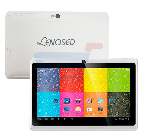 Lenosed A710 Tablet, Android 4.2.2, 7 Inch LCD Display, 1GB RAM, 8GB Storage, Dual Camera, Wifi- White
